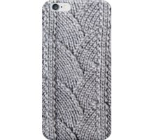 Dragon skin textured knit iPhone Case/Skin