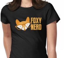 FOXY nerd Womens Fitted T-Shirt