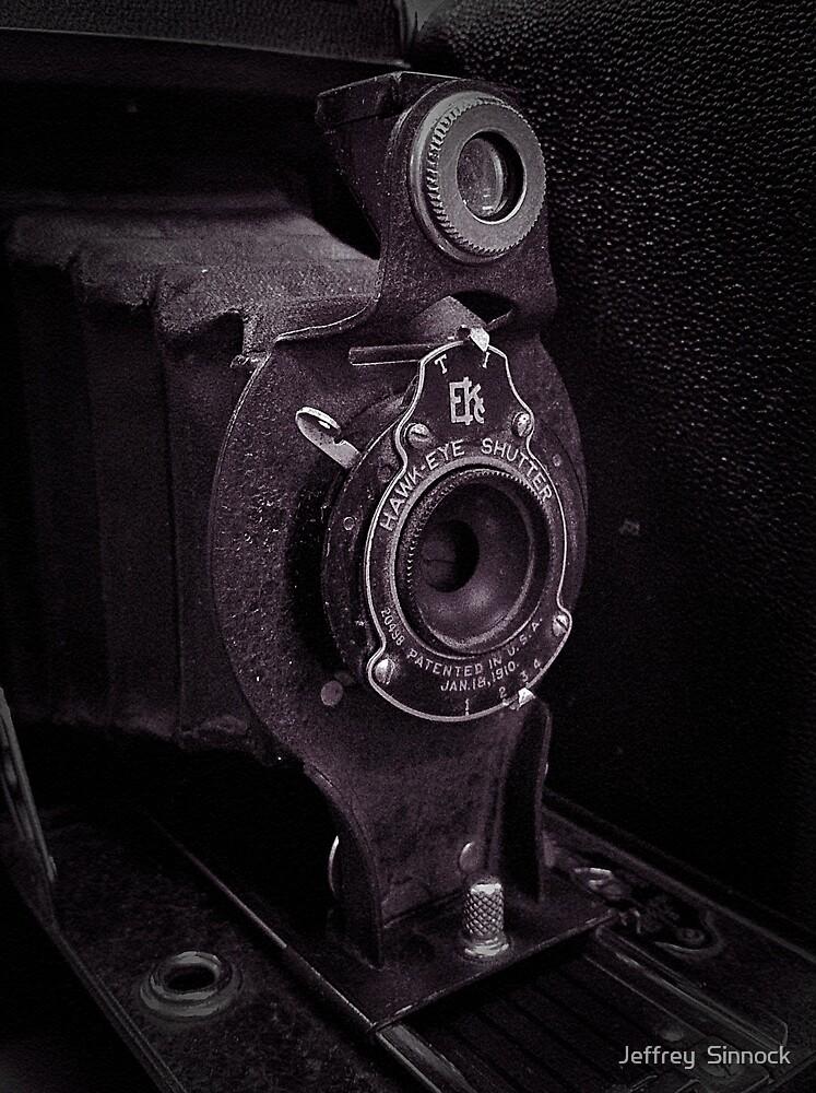 Old Hawk-Eye  by Jeffrey  Sinnock