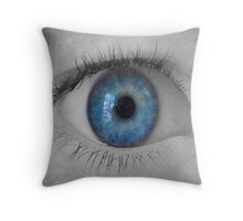 Ocular Orifice Throw Pillow