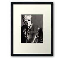 Adam Clayton Portrait Framed Print