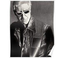Adam Clayton Portrait Poster