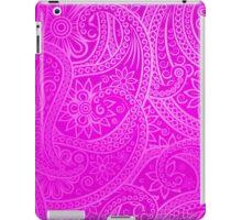 Pink Statement Paisley Pattern iPad Case/Skin