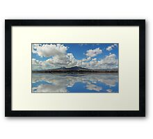 ©HCS Fields Of Clouds Framed Print