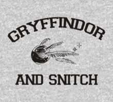 Gryffindor and Snitch T-Shirt