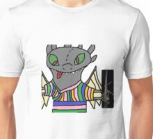 Toothless with an intervention MLG Unisex T-Shirt