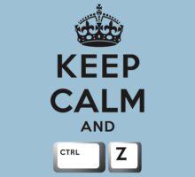 Keep Calm Geeks: Control Z by Ozh !