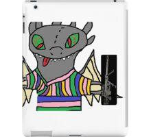 Toothless with an intervention MLG iPad Case/Skin