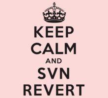 Keep Calm Geeks: SVN Revert One Piece - Long Sleeve