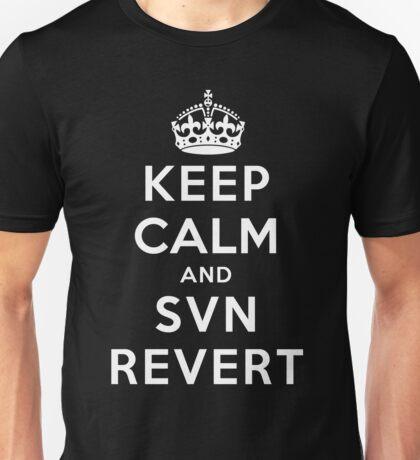 Keep Calm Geeks: SVN Revert T-Shirt