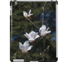 White magnolia iPad case iPad Case/Skin