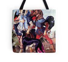 Renaissance Dogs. Tote Bag