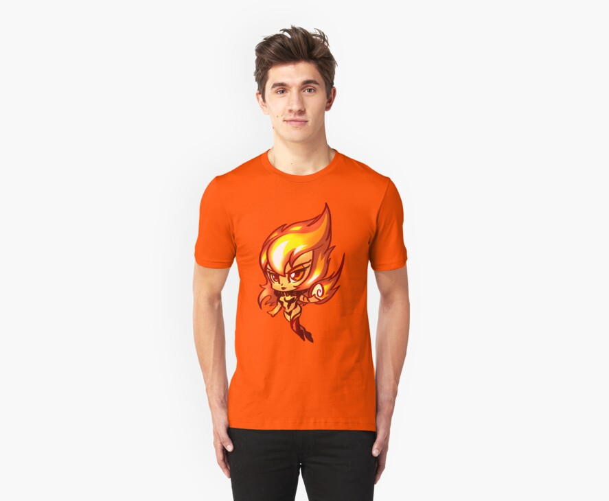 Chibi Fire Sprite by Figment Forms