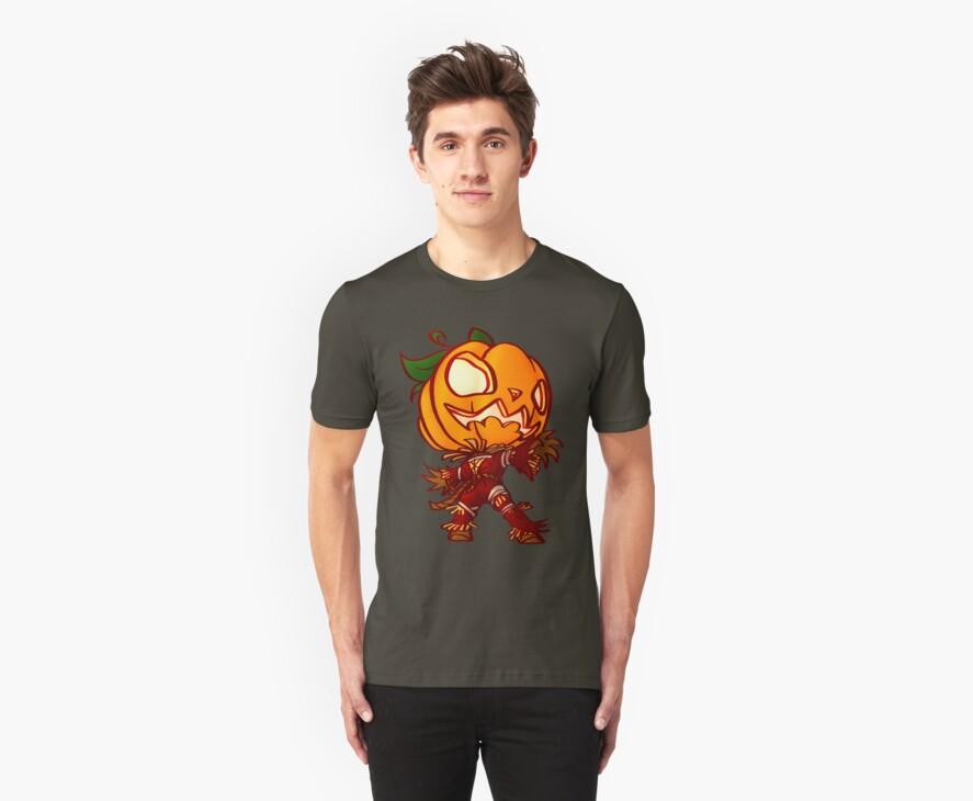 Chibi Pumpkin man by Figment Forms