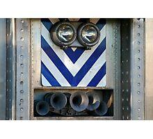 Train Face Photographic Print