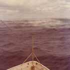 Gulf of Mexico, Winter Weather, Sea Smoke, United States Coast Guard Cutter VALIANT on Search and Rescue (1975-1977). by Richard Bradley Bonds