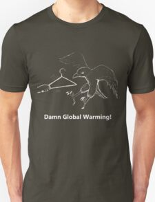 Global Warming Versus Coat Hanger T-Shirt