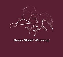 Global Warming Versus Coat Hanger Unisex T-Shirt