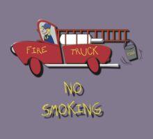 Fire Truck - No Smoking, T-shirt Kids Tee