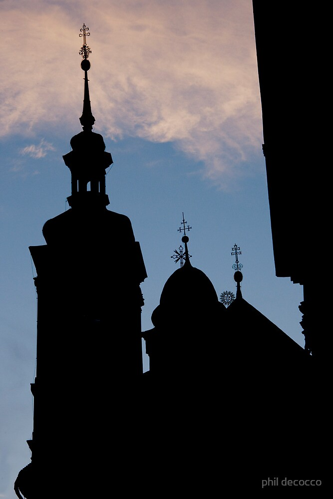 Steeples And Crosses by phil decocco