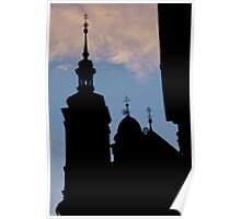 Steeples And Crosses Poster