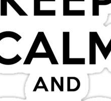 Keep Calm Geeks: Ping Localhost Sticker