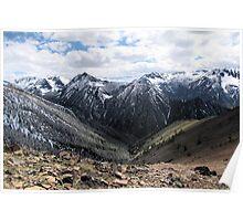 Wallowa Mountains Oregon  Poster
