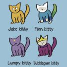 Adventure Time Kitties! by josskaty