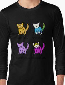 Adventure Time Kitties! Long Sleeve T-Shirt