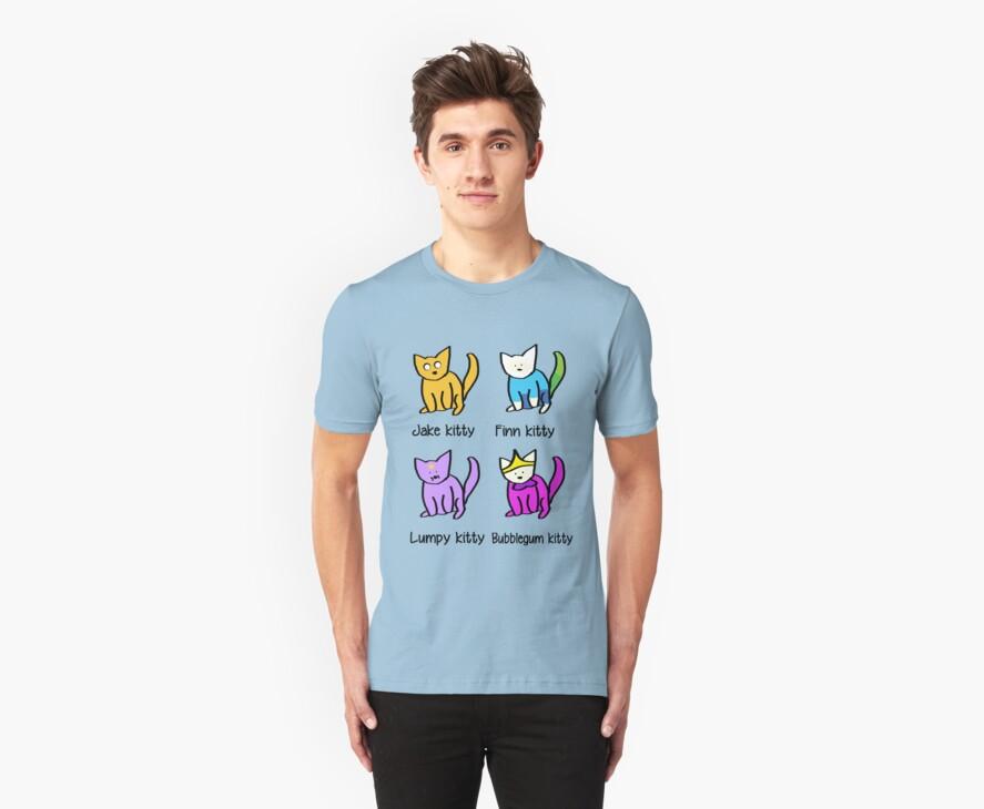 Adventure Time Kitties! by josskaty