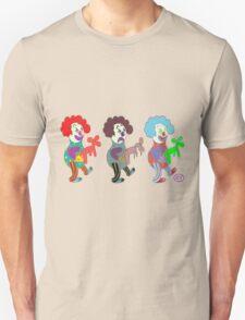 happy sad clowns T-Shirt