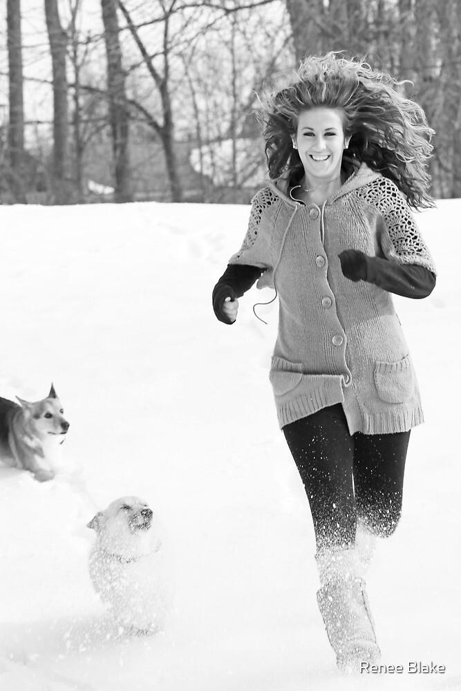 Snow Tag ~ by Renee Blake
