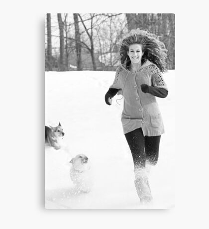 Snow Tag ~ Canvas Print