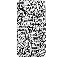 I HEART FRENCH iPhone Case/Skin
