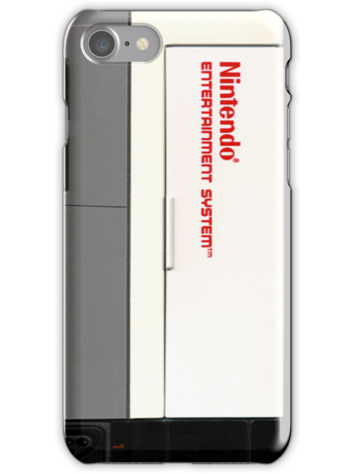NES Console Face Case by Christopher McElfresh