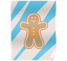 Pastel Gingerbread Hugs Poster