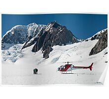 On the Mountain Poster