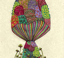 Dream Mushroom by Octavio Velazquez