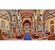 St Mary Chilham Photographic Print
