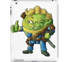 Fall(spr)out Sprout Boy  iPad Case/Skin