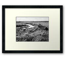 Nisqually Tidal Valley Framed Print