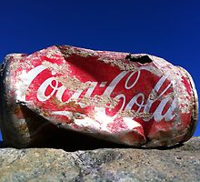 Coke and no smile by Michael Rhodes