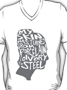 porcelain ivory steel T-Shirt