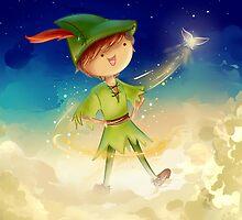 Peter Pan by CodiBear8383