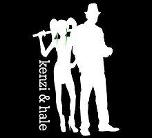 Kenzi & Hale - Lost Girl Dark Fae by jlechuga