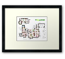 Beach House of Charlie Harper from T&aHM Framed Print