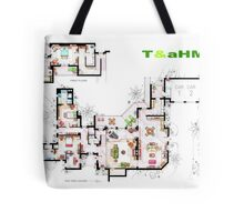Beach House of Charlie Harper from T&aHM Tote Bag