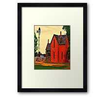Oh !,.....The Dreams We Had Framed Print