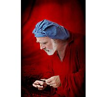 Renaissance Music Man Photographic Print