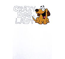 Crazy Dog Photographic Print